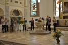 Bläserchor in der Unterkirche